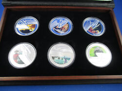 2006 Melbourne Commonwealth Games Medallion - Pure Silver Proof - Superb
