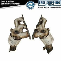 Exhaust Manifold W/ Catalytic Converter Gasket And Hardware Pair For Ford Lincoln