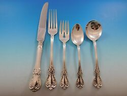 Old Master By Towle Sterling Silver Flatware Set For 8 Service 40 Pieces Dinner