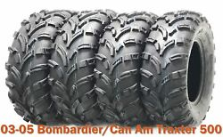 03-05 Bombardier/can Am Traxter 500 Full Set Atv Tires 25x8-12 And 26x10-12 P373