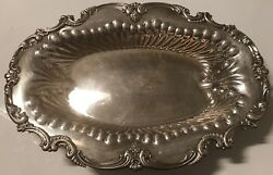 Vintage Sterling Silver Frank Whiting Bowl J.e Caldwell And Co 3944