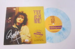 Siouxsie And The Banshees Signed 7 Blue Marble Colored Ltd Ed 2000 Copies Coa