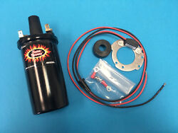 Fits Ford 8n Naa Jubilee Tractor Hot Coil Electronic Ignition Conversion Kit 12v