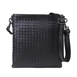 BOTTEGA VENETA Mens Cross Body Messenger Shoulder Bag Black 276357 V465C 1000
