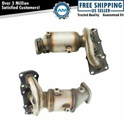 Exhaust Manifold W/ Catalytic Converter Gaskets And Hardware Pair For Hyundai Kia