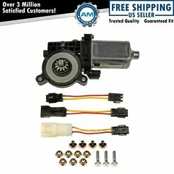 Dorman Front Power Window Motor Or For Cadillac Chevy Pontiac Saturn Buick Gmc