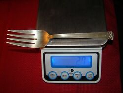 International Trianon Sterling Silver Cold Meat Fork No Monogram