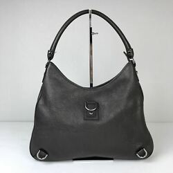 Women's Gucci Brown Leather Large Abbey Hobo Bag Made in Italy MSRP $1800