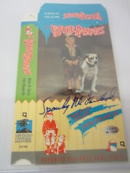 George Spanky Mcfarland Actor Little Rascals Signed Autographed Vhs Cover Coa