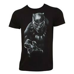 Authentic MARVEL COMICS Black Panther T-Shirt S-2XL NEW