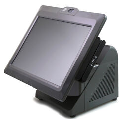 7616-1200 Ncr 72xrt Pos Terminal With Msr, Biometric, And Rear Display