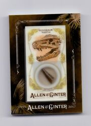 2010 Topps Allen & Ginter Carcharodontosaurus Dinosaur Relic Tooth 25 Monsters