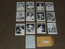 1962 Kansas City A's Baseball Picture Pack Set Of 12 Dick Howser Ex-mint