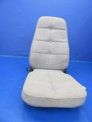 Piper Pa-32 Cherokee Six Center Seat Gray Upholstery 0418-202
