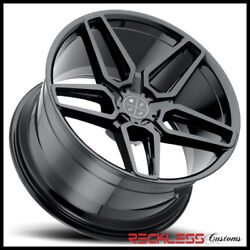 Blaque Diamond 20 Bd17 Gloss Black Concave Wheel Rim Fits Honda Accord Coupe