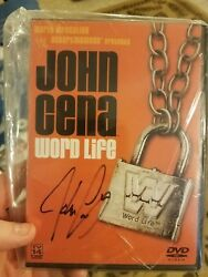 John Cena Signed His First Ever Wwe Produced Dvd Word Life
