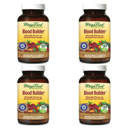 4X MEGAFOOD BLOOD BUILDER IRON & MULTIVITAMIN SUPPLEMENT BODY CARE SUPPORT