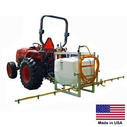 KUBOTA L3200 Tractor with 3 Point Hitch Sprayer & 12 Ft Boom - 100 Gallon Tank