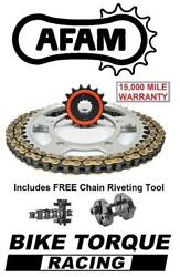 Yamaha Mt-01 1700 N/s 05-12 Afam Quiet Chain And Sprocket Kit + Tool