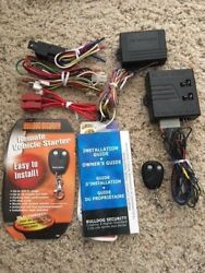 Bulldog Security Remote Vehicle Starter RS82 includes working FOB J3S0045CH00