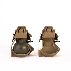 The Trigger Pouch/grenade Holster - For The M67 Complient With Mil-std-810g