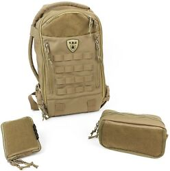 Tactical Baby Gear Daypack 3.0 Tactical Diaper Bag Backpack Combo Set (Coyote