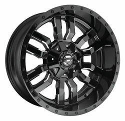 CPP Fuel Off Road D595 Sledge wheels 20x12 fits: FORD F250 F350 1998-OLDER 4X4