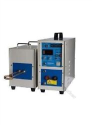 High Frequency Induction Heater Furnace 25kw Heating Machine New Qn