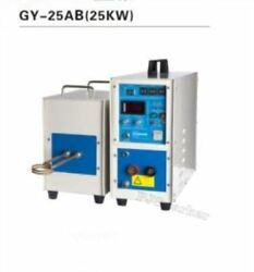 High Frequency 30-80khz 25kw Gy-25ab Induction Heater Brand New Ii