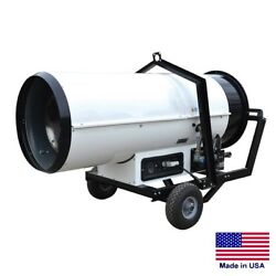 PORTABLE HEATER ComlIndustrial - Ductable - VP & NG Fired - 404000 BTU