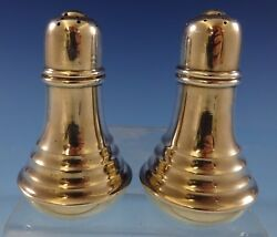 Old Maryland Plain By Kirk Sterling Silver Salt And Pepper Shaker Set 2pc 2424