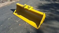 New 48 Caterpillar 301.7d Ditch Cleaning Bucket With Pins
