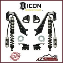 Icon 1.75-4 Front Stage 1 Coilover Conversion System For 07-18 Jeep Wrangler Jk