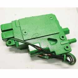 Used Hitch Control Valve Compatible With John Deere 9400 8100 8200 8400 8300