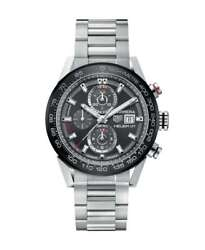 OROLOGIO TAG HEUER - CARRERA CHRONO Ref. CAR201W.BA0714 - Tag Heuer watch