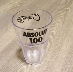 Absolut 100 - Octopussy Plastic Tumbler Glass Cup From France Rare Absolut Vodka