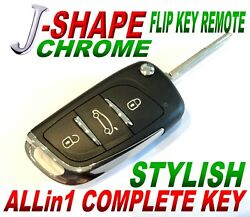 J-style Flip Remote For Gm Models Ouc60270 Chip O+ Alarm Rfid Keyless Entry Fob