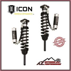 Icon Standard Travel Remote Reservoir Cdcv Coilover Kit For 16-21 Toyota Tacoma