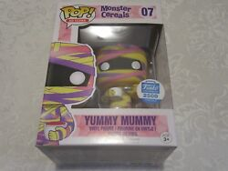 Funko Pop Ad Icons Shop Exclusive Monster Cereals Yummy Mummy 07 Vinyl Figure