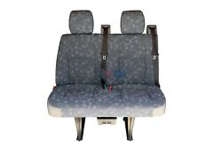 2006 Mercedes Sprinter 2nd Row 2 Passenger Bench Seat In Gray Cloth