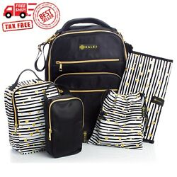 Diaper Bag Travel Backpack for Women: Large Water Repellent Bags for Mom and Bab