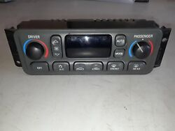 00-04 CORVETTE C5 DIGITAL AUTOMATIC CLIMATE CONTROL HVAC HEAT AC DUAL ZONE 3279