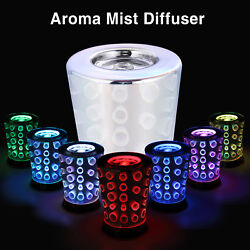 Modern 3D Circle Aromatherapy Essential Oil Diffuser Ultrasonic Humidifier Mist