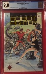 MAGNUS ROBOT FIGHTER #1 CGC 9.8 NM/MT Near Mint pre-unity Valiant Trading Cards