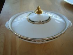 Royal Doulton Forsyth H 519 Covered Serving Bowl With Lid Free U.s. Shipping