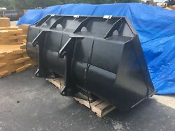 New 3.5 Cubic Yard Loader Bucket for Volvo L120 with Female Blanks