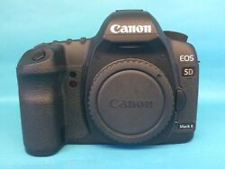 Used Canon Eos 5d Mark Ii 21.1mp Camera - Body Only 2764b003