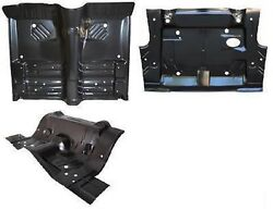 Body Kit Front Floor Under Rear Seat And Trunk Pan Challenger 70 E-body Amd