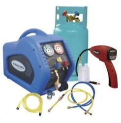 Complete Refrigerant Recovery System with 55100-R Leak Detector MSC69100-55R