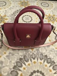 Kate Spade Handbag/crossbody. Beautiful Red Perfect For Christmas Or Valentines